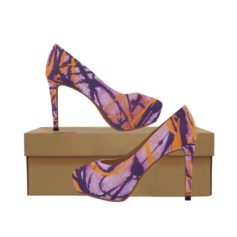 Sunset Twilight Women's High Heels (Model 044)