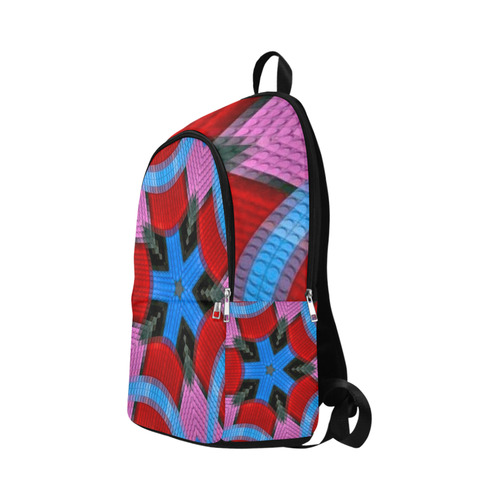8-Bit Luciferian Fabric Backpack for Adult (Model 1659)