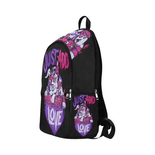 Emo Pound Puppy Fabric Backpack for Adult (Model 1659)