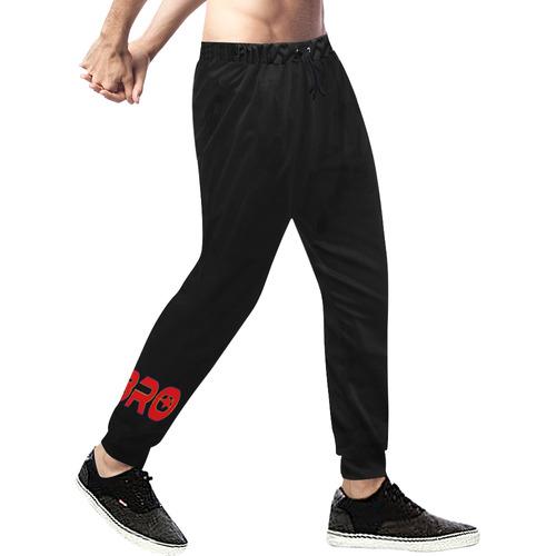 BRO BROTHER Men's All Over Print Sweatpants (Model L11)