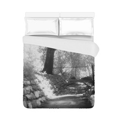 """The Path Duvet Cover 86""""x70"""" ( All-over-print)"""