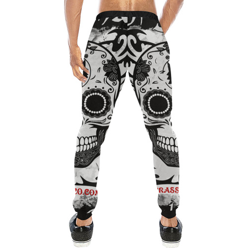 SKULL CULT Men's All Over Print Sweatpants (Model L11)