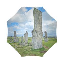 Callanish stone circle, Outlander inspired photo print Foldable Umbrella (Model U01)