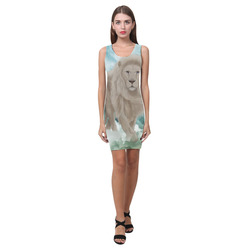 The white lion in the universe Medea Vest Dress (Model D06)