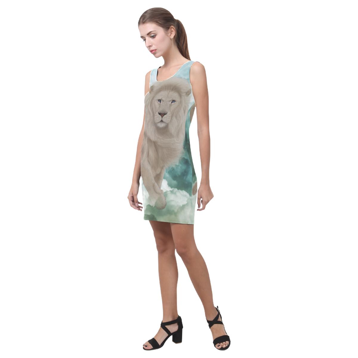 The white lion in the universe Medea Vest Dress (Model D06)