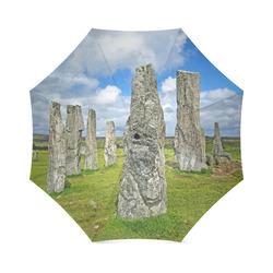 Callanish standing stones Outlander inspired photo print Foldable Umbrella (Model U01)