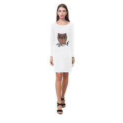 Barn Owl Demeter Long Sleeve Nightdress (Model D03)
