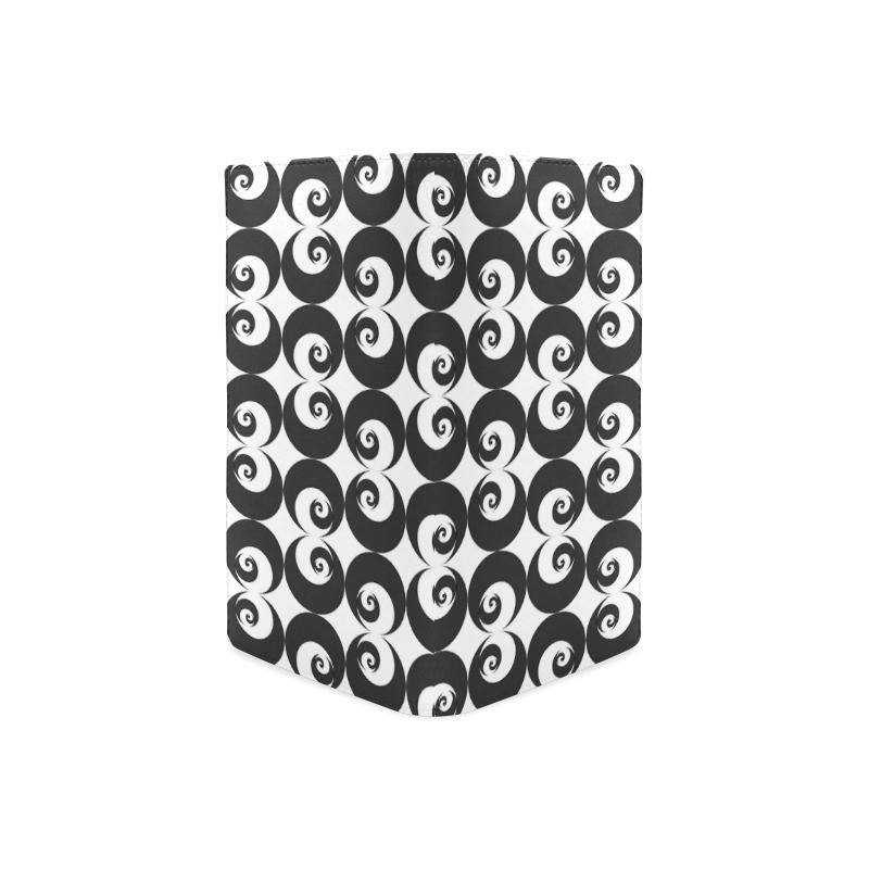 Fibonacci rose pattern 6 Women's Leather Wallet (Model 1611)