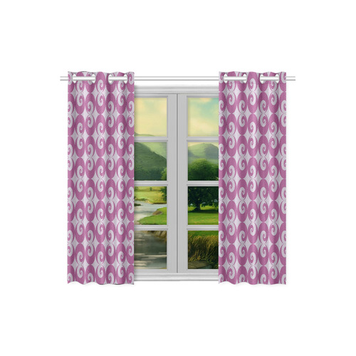 "FR Kitchen Curtain 26"" X 39"" (Two Piece)"