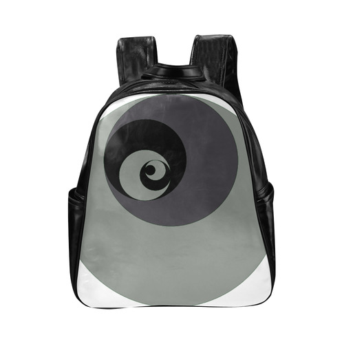 Fibonacci rose 7 Multi-Pockets Backpack (Model 1636)
