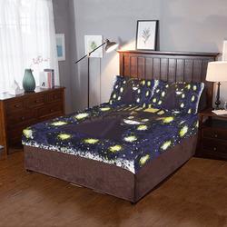 cat bus 3-Piece Bedding Set