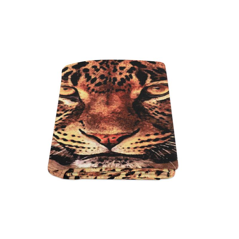 """gepard leopard #gepard #leopard #cat Blanket 58""""x80"""""""