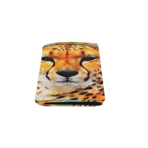 """gepard leopard #gepard #leopard #cat Blanket 50""""x60"""""""