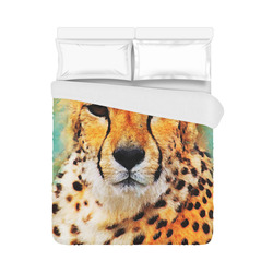 "gepard leopard #gepard #leopard #cat Duvet Cover 86""x70"" ( All-over-print)"