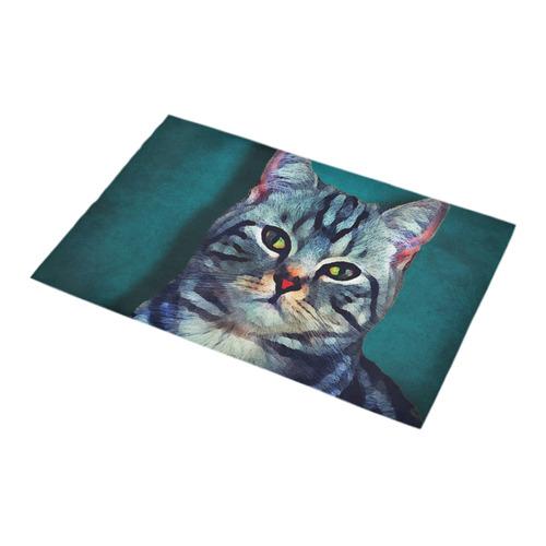 cat Bella #cat #cats #kitty Bath Rug 16''x 28''