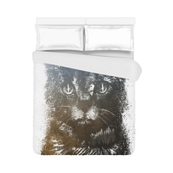 "cat #cat #cats #kitty Duvet Cover 86""x70"" ( All-over-print)"