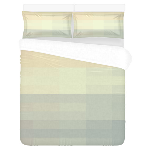 Like a Candy Sweet Pastels Pattern 3-Piece Bedding Set
