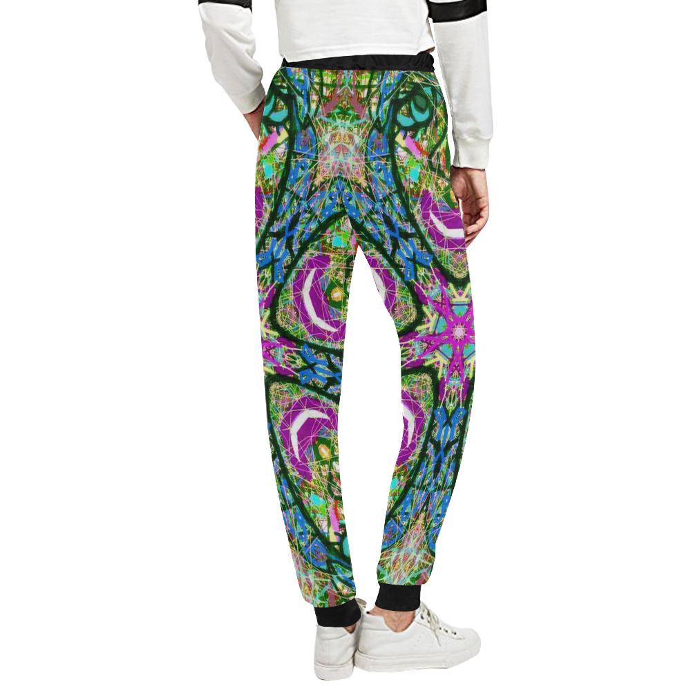 Thleudron Virtue Unisex All Over Print Sweatpants (Model L11)